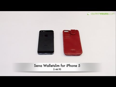 Sena Walletslim Leather Wallet Case for iPhone 5 - Review