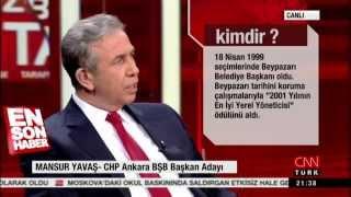 Mansur Yavaş:AK Parti bana belediye başkanlığı için teklif yaptı 03.02.2014