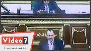 """بالفيديو.. النائب محمد الشورى الفائز بمقعد """"عكاشة"""" يؤدى اليمين القانونية أمام البرلمان"""