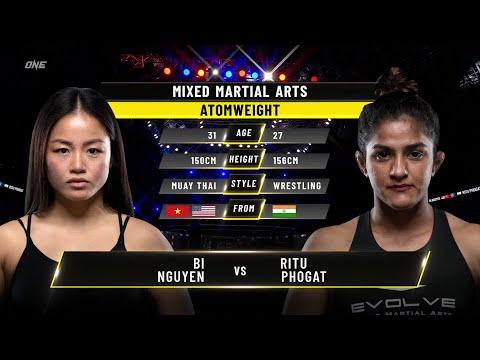 Bi Nguyen vs. Ritu Phogat | ONE Championship Full Fight