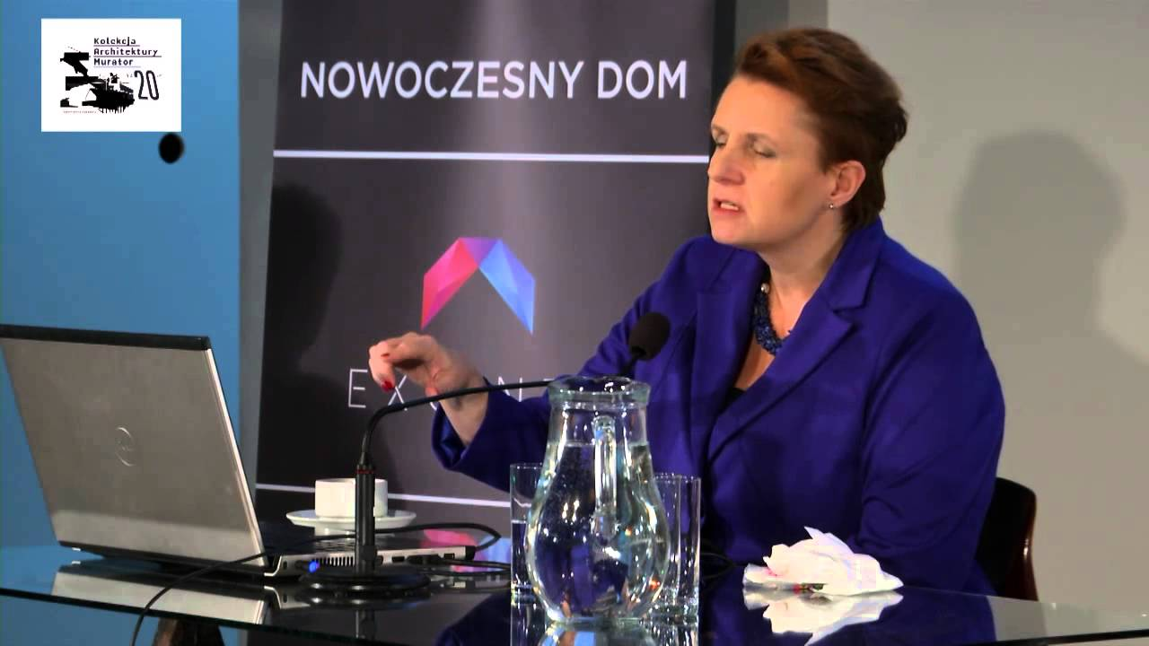 Architektura dla kultury - wykład Minister Kultury prof. Małgorzaty Omilanowskiej