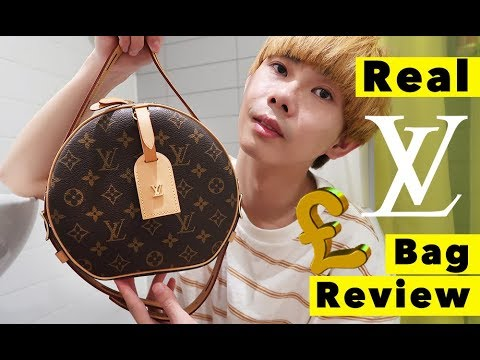 d2a9087d2c3f Real Louis Vuitton LV Bag Unboxing Review