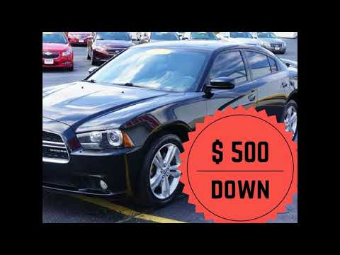 Comercial 500 Down Car for Sale in Detroit Mich.