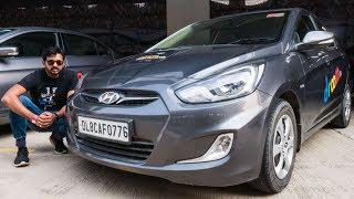 Old Hyundai Verna Track Review - Fast Not Dynamic | Faisal Khan