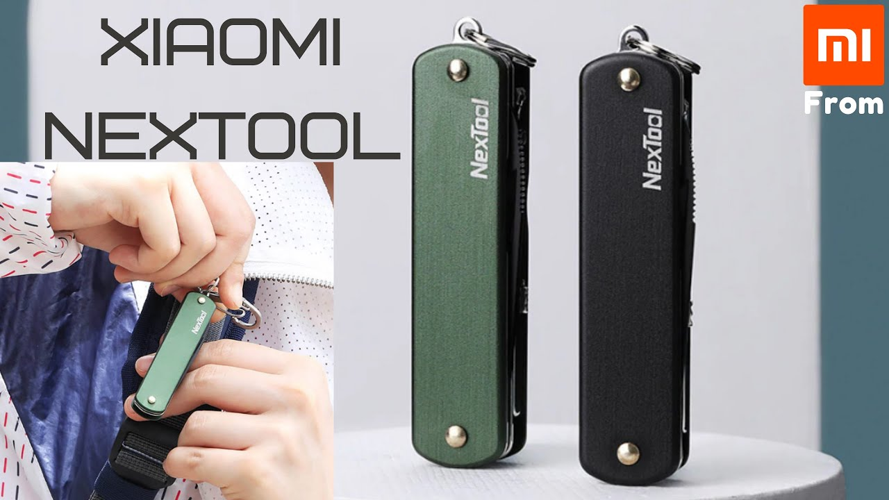Xiaomi NexTool Outdoor Multifunctional Nail Clippers.
