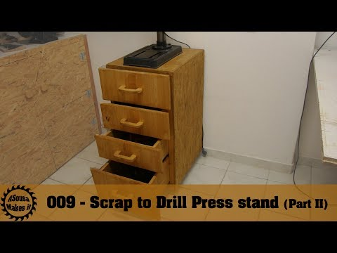 Scrap to Drill Press stand Part II