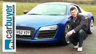Audi R8 coupe 2013 review - CarBuyer