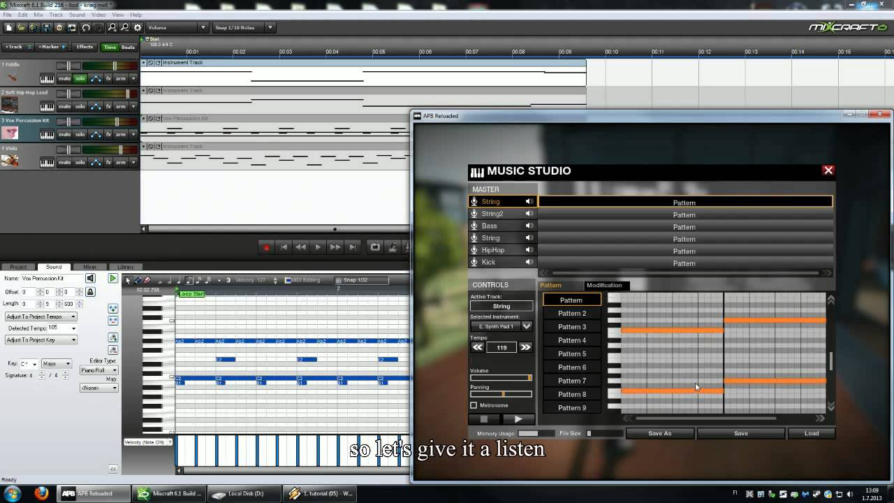 how to set up midi for live