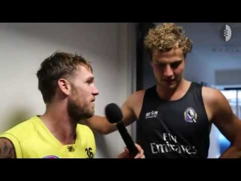 The B&W Show: Dane Swan on Dayne Beams' 100th game