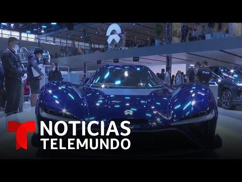 Presentan autos del futuro en la Auto China 2020 | Noticias Telemundo