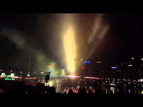 Australia Day's Fireworks at Darling Harbour Sydney Australia HD