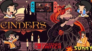 Cinders Nintendo Switch Gameplay | An Engaging Visual Novel Game | Full Sunny Narration