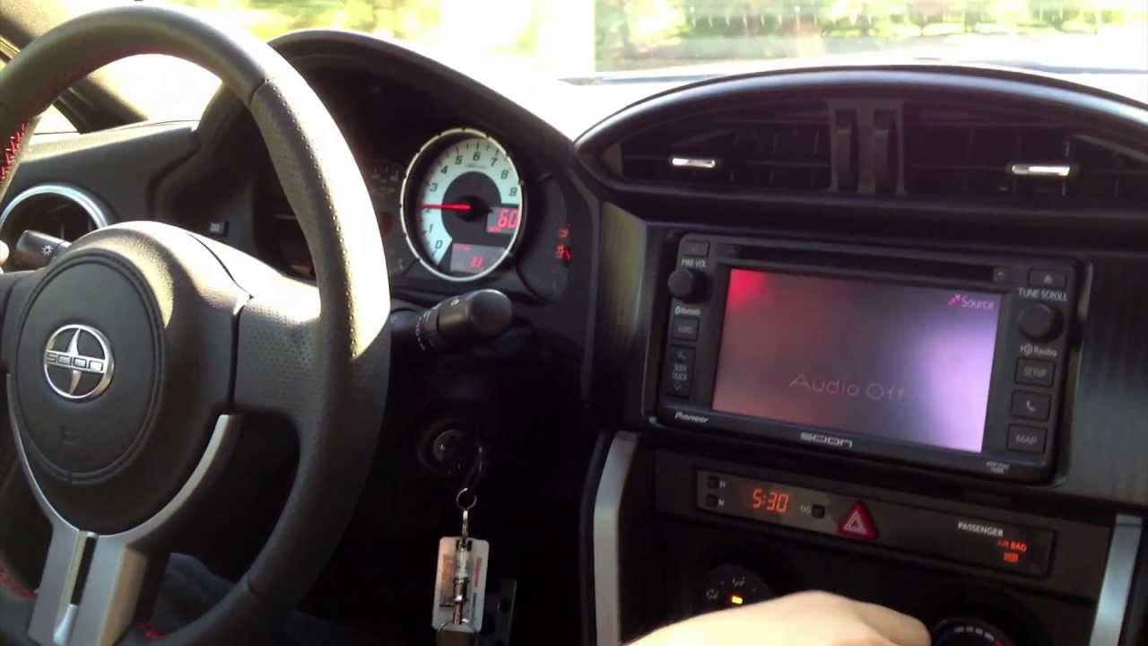 2013 Scion FRS WOT 060 6Speed Manual  YouTube