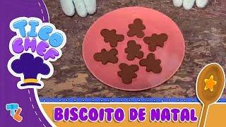 BISCOITINHOS DE GENGIBRE DO TICOCHEF #Ticolicos