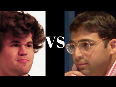 World Chess Championship 2014 : Game 2 - Magnus Carlsen vs Vishy Anand