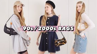 How to Style 90s/2000s Shoulder Bags (Lookbook)