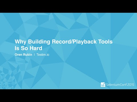 Why Building Record/Playback Tools Is So Hard