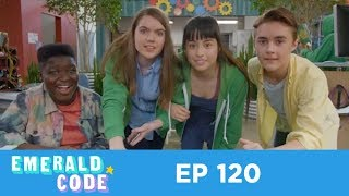 Emerald Code - Emerald Code | Green Hoodie | Learn to Code | Season 1 Episode 20 | Get into STEM thumbnail