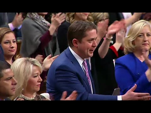 An Outraged Scheer VS Talking Point Trudeau