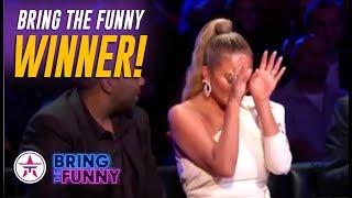 Bring The Funny WINNER Announced & Brings Chrissy Teigen To TEARS!