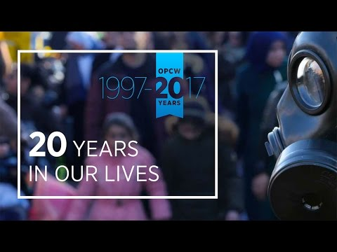 "OPCW ""20 Years in our Lives"" Anniversary Video"