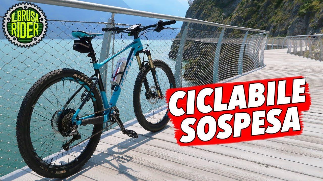 La Pista Ciclabile Sospesa Sul Lago Di Garda