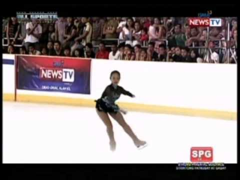 News TV All Sports: Keith Stephanie Angeles' Ice Skating Routine