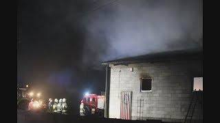 Duży pożar w gospodarstwie rolnym. Ucierpiały zwierzęta