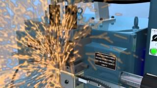 Bandsaw welding process \ Сварка ленточных пил(Процесс сварки ленточных пил в кольцо http://www.nvtr.net/, 2013-08-18T13:30:58.000Z)
