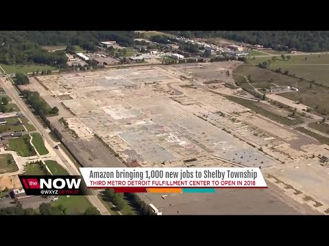 Amazon bringing 1,000 jobs to Shelby Township