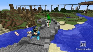 Throwing Babies off the bridge(in roblox)