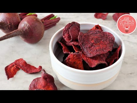 Yams and beet chips – Easy veggie chips