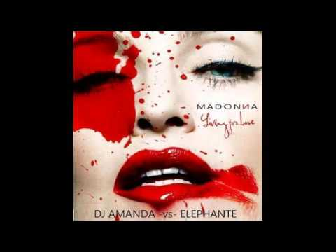 MADONNA   LIVING FOR LOVE DJ AMANDA VS ELEPHANTE