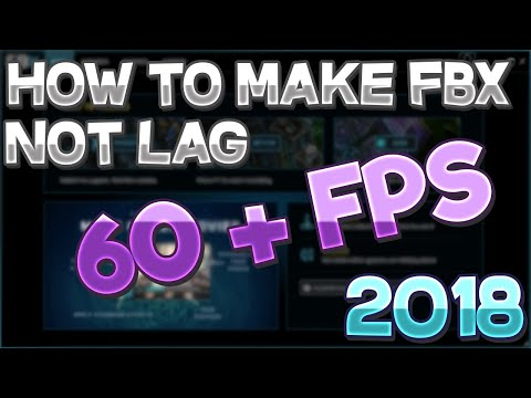 How to make fbx screen recorder Not Lag *2018*