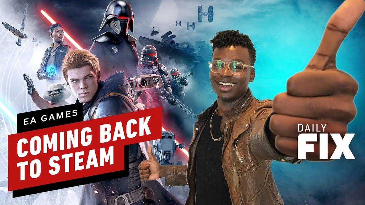Aquí es cuando EA Games regresa a Steam - IGN Daily Fix + vídeo