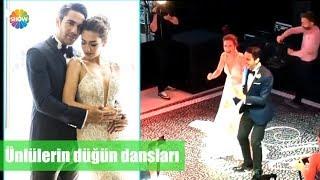 Ünlülerin düğün dansları