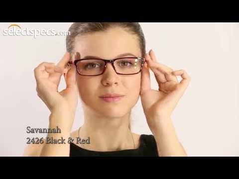 savannah-2426-black-&-red-prescription-glasses-for-ladies