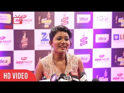 Vaishali Mhade at 8th Mirchi Music Awards 2016 | ViralBollywood Entertainment
