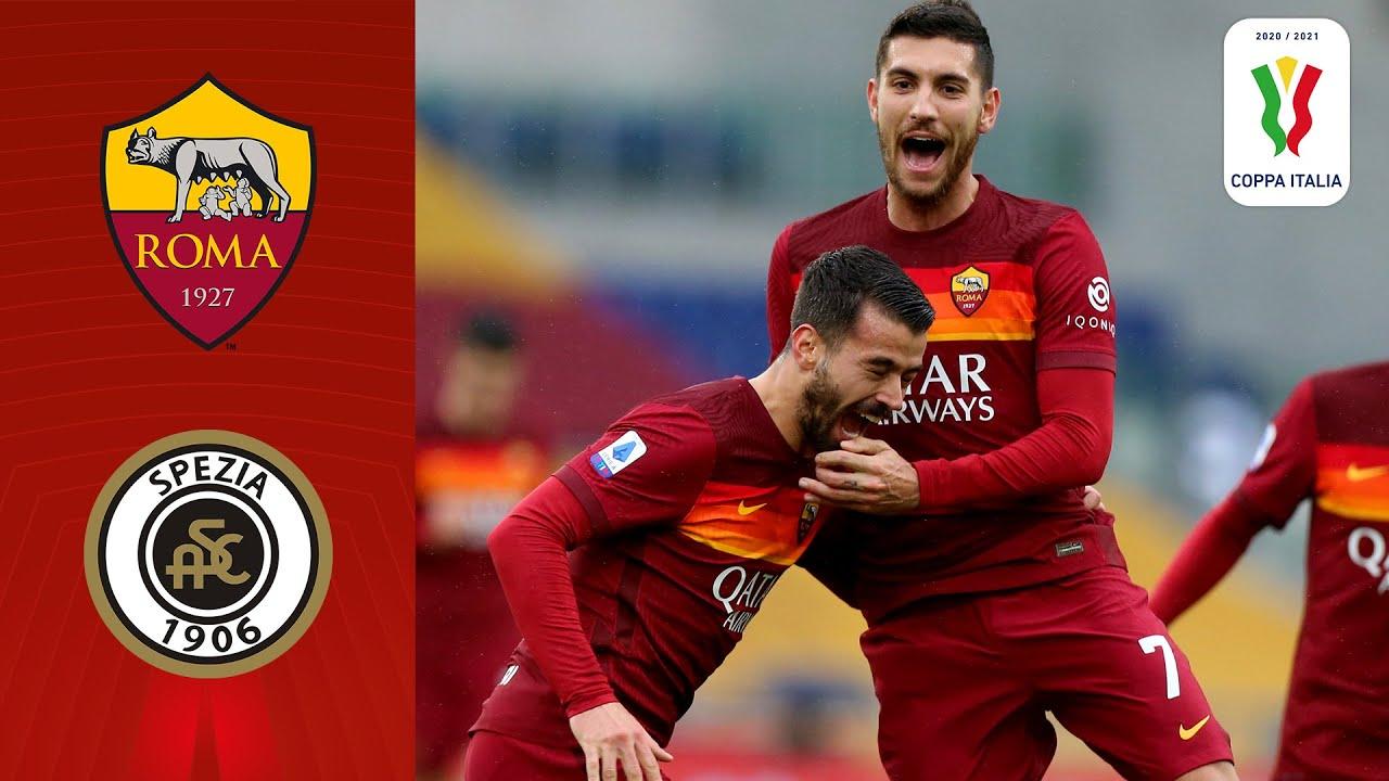 🔴 Roma v Spezia | Full Match LIVE | Coppa Italia 2020/2021 | Serie A TIM