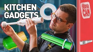 6 Kitchen Gadgets - Tested By Idiots | FridgeCam