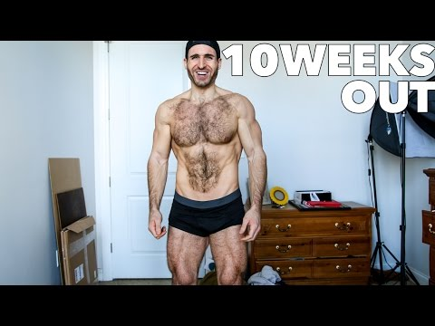 10 Weeks Out Prep Update | Bodybuilding & Physique Posing | TSL ep. 21