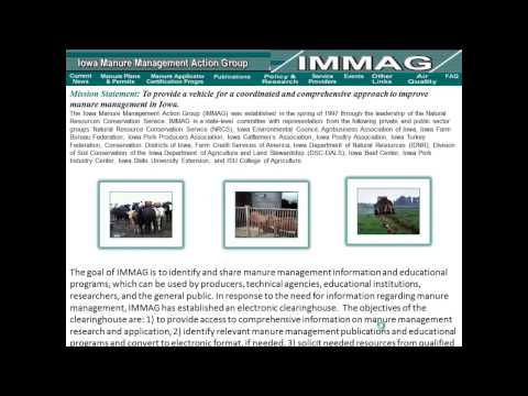 Iowa Manure Management Action Group (IMMAG)