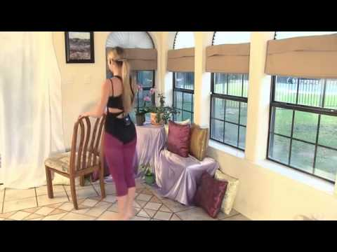 12 Minute Workout Beautiful Ballet Legs   Buns Stretches For Beginners At Home - YouTube2