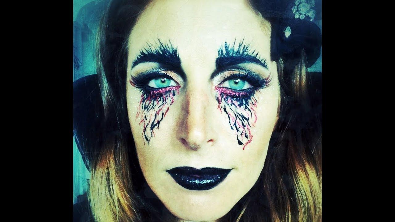 Makeup Tutorial Trucco Halloween La Regina Della Notte ...