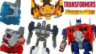 Bumblebee Movie Nitro Series Energon Igniters Toys Barricade and Optimus Prime Race!