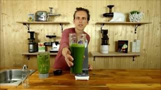 Giraffe Vakuum Standmixer - Green Smoothies - Revolution - Mixen ohne Sauerstoff