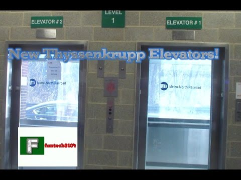 Thyssenkrupp Synergy Parking Elevators @ North White Plains Train Station  White Plains, New York