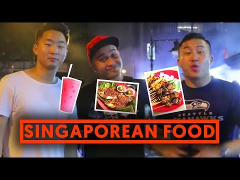 SINGAPOREAN HAWKER STALL - STINGRAY (Lau Pa Sat) | Fung Bros