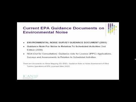 Environmental Noise Seminar by ICAN Acoustics