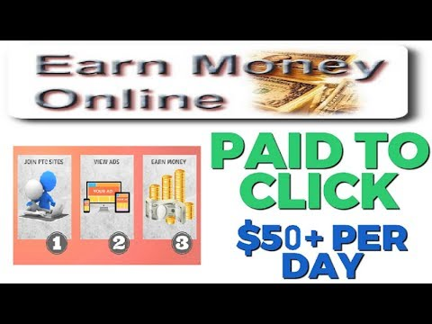 How To Earn Money By Watching Ads Top 5 PTC Sites To Earn Money At Home 2018